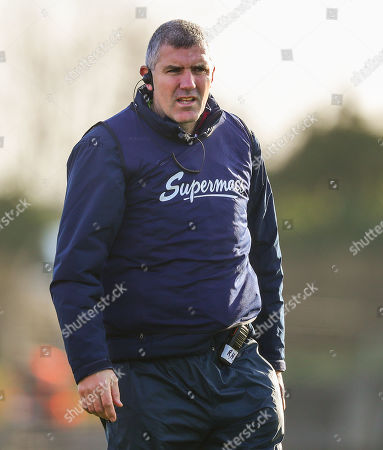 Galway vs Roscommon. Galway manager Kevin Walsh