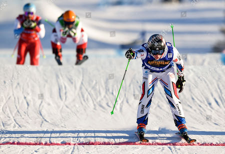 Editorial picture of IS Freestyle Ski Cross World Cup in Idre Fjall, Sweden - 20 Jan 2019
