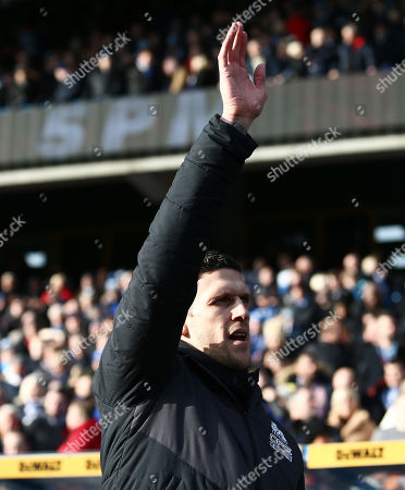 Huddersfield Town caretaker manager Mark Hudson