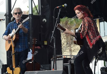 Stock Photo of John Leventhal and Rosanne Cash