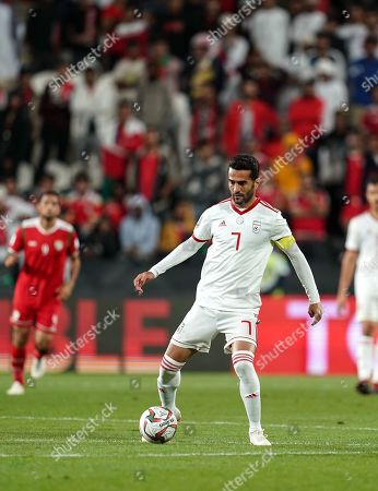 Editorial photo of AFC Asian Cup Football Iran v Oman, Abu Dhabi, USA - 20 Jan 2019