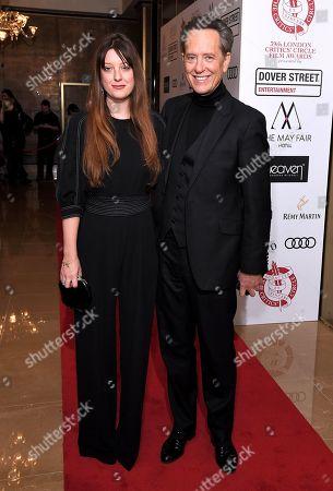 Richard E. Grant and Olivia Grant