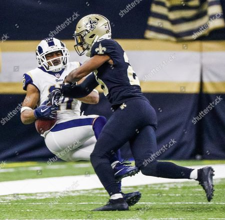 Editorial photo of Los Angeles Rams at New Orleans Saints, USA - 20 Jan 2019