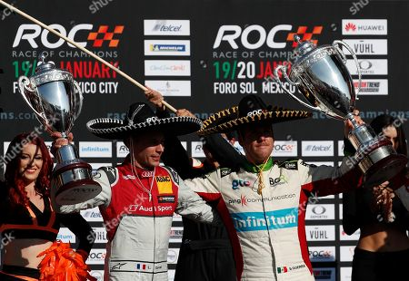 Editorial picture of Race of Champions, Mexico City, Mexico - 20 Jan 2019