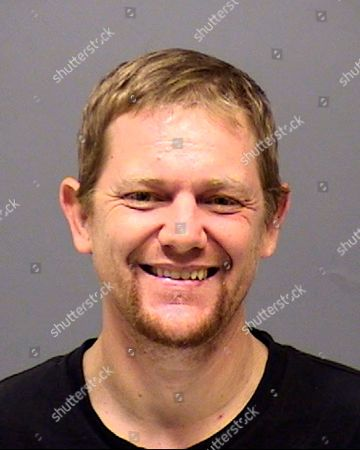 This Aug. 2018, booking photo of Mark Leo Gregory Gago, 42, was provided by the Clackamas, Ore., County Sheriff's Department. Gago killed four members of his family Saturday night, Jan. 19, 2019 at the rural home they shared and was shot by sheriff's deputies as he tried to kill a girl, authorities said. Gago killed his parents, his girlfriend and their infant daughter, night before deputies shot him, the Clackamas County Sheriff's Office said. The sheriff's office identified the victims as Olivia Gago, 9 months, Shaina Sweitzer, 31, Jerry Bremer, 66, and Pamela Bremer, 64