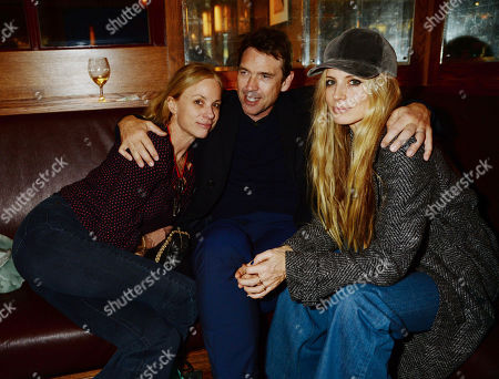 Claire Forlani, Dougray Scott and Laura Bailey