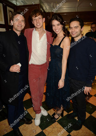 Dougray Scott, Ollie Feather, Gala Gordon and Sebastian de Souza