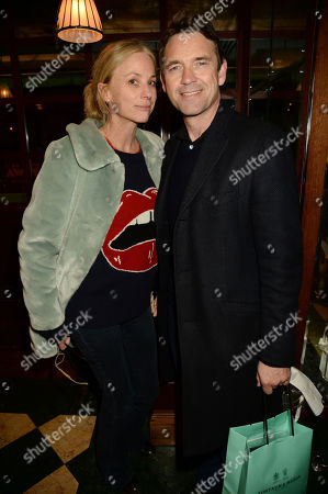 Stock Picture of Kate Driver and Dougray Scott