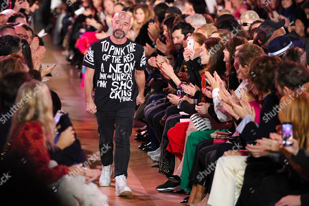 Bertrand Guyon on the catwalk