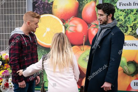 Ep 9682 Friday 1st February 2019 - 1st Ep An angry Seb turns on Gary Windass, as played by Mikey North, for sacking him when he needed the job most and he tells Gary that Sarah Platt, as played by Tina O'Brien, spent the evening at Adam Barlow's, as played by Sam Robertson, flat. What will Gary say?