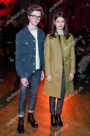 Editorial picture of Paul Smith show, Front Row, Fall Winter 2019, Paris Fashion Week Men's, France - 20 Jan 2019