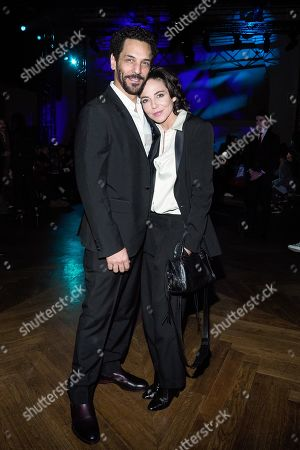 Tomer Sisley and Sandra Zeitoun De Matteis in the front row