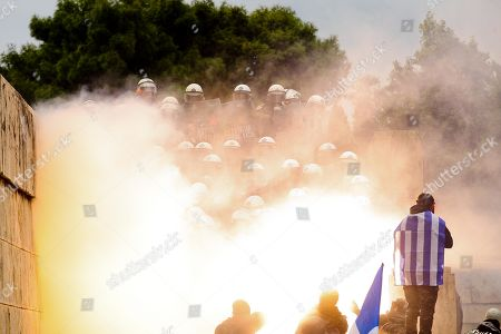 Macedonia name change protest, Athens