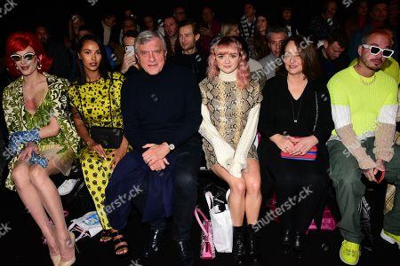 Miss Fame, Maya Jama, Sidney Toledano, Maisie Williams, J Balvin