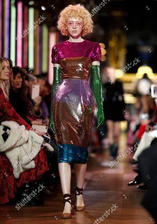 Editorial picture of Schiaparelli - Runway - Paris Fashion Week Haute Couture S/S 2019, France - 21 Jan 2019