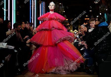 Editorial photo of Schiaparelli - Runway - Paris Fashion Week Haute Couture S/S 2019, France - 21 Jan 2019