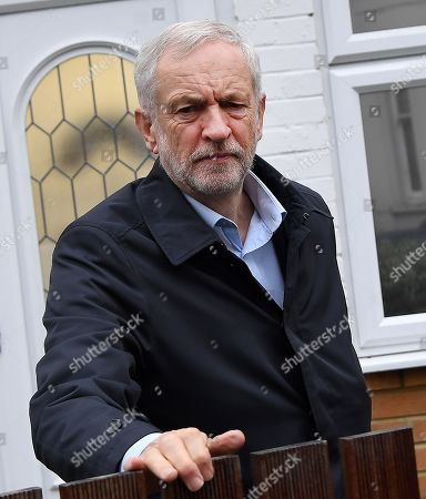 Jeremy Corbyn out and about, London