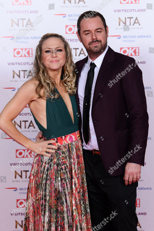 Danny Dyer and Kellie Bright
