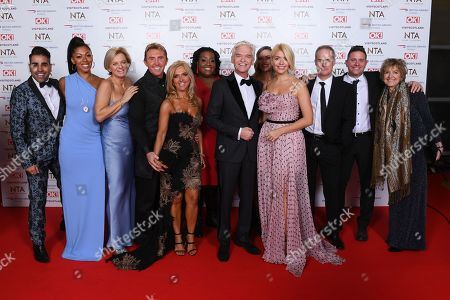 Dr Zoe Williams, Alice Beer, Steve Wilson, Dr Ranj, Martin Lewis, Phil Vickery, Lisa Snowdon, Nik Speakman and Eva Speakman, Rochelle Humes and Dr Chris Steele from 'This Morning'