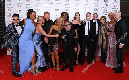Editorial photo of 23rd National Television Awards, Arrivals, O2, London, UK - 22 Jan 2019