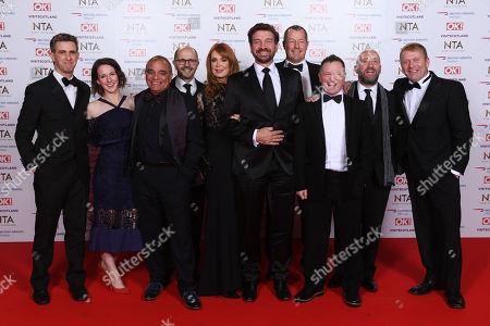 Nick Knowles, Billy Byrne, Mark Millar, Chris Fredlanni, Gabrielle Blackman and Julian Perryman - 'DIY SOS: The Big Build'