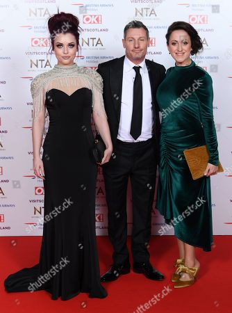 Editorial photo of 23rd National Television Awards, Arrivals, O2, London, UK - 22 Jan 2019