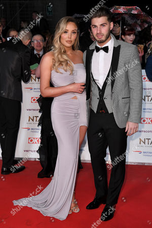 Charlotte Crosby and Josh Ritchie