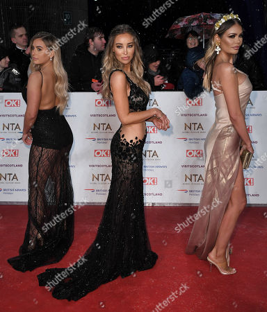 Ellie Brown, Lauren Pope and Chloe Sims