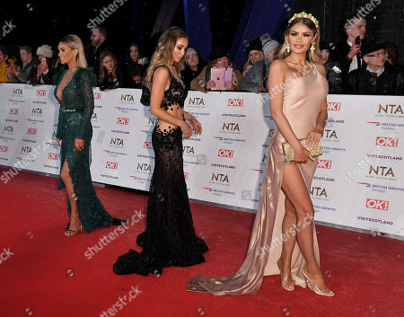Laura Anderson, Lauren Pope and Chloe Sims