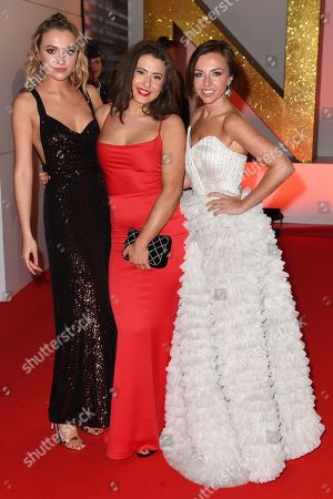 Tilly Keeper, Jasmine Armfield and Louisa Lytton