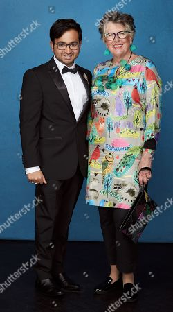 Exclusive -  Rahul Mandal and Prue Leith
