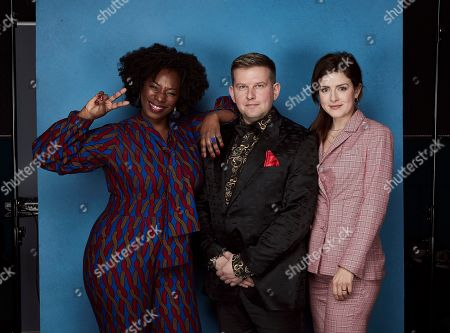 Stock Photo of Exclusive - Tanya Moodie, Greg McHugh and Aisling Loftus