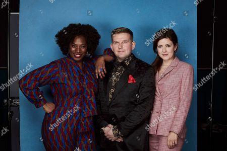 Editorial image of 23rd National Television Awards, Reception Portraits, O2, London, UK - 22 Jan 2019