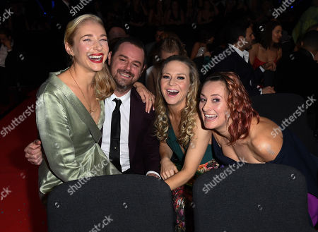 Maddy Hill, Danny Dyer, Kellie Bright and Luisa Bradshaw-White