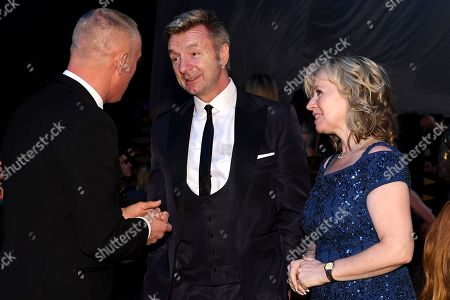 Rob Rinder, Christopher Dean, Karen Barber.