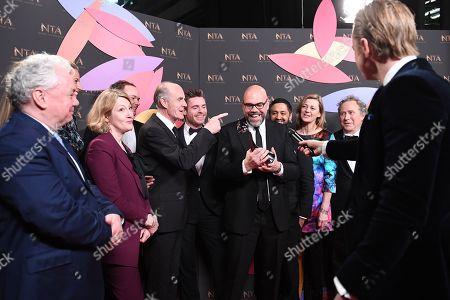 Editorial image of 23rd National Television Awards, Backstage, O2, London, UK - 22 Jan 2019