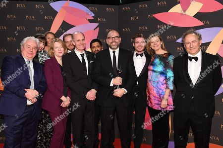 Editorial picture of 23rd National Television Awards, Backstage, O2, London, UK - 22 Jan 2019