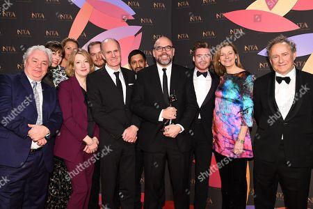 Editorial photo of 23rd National Television Awards, Backstage, O2, London, UK - 22 Jan 2019