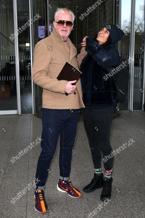 Chris Evans and Natasha Evans leaving Virgin radio