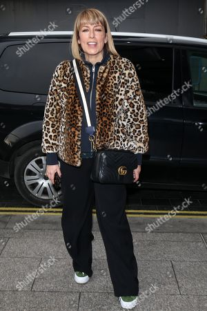 Fay Ripley out and about, London