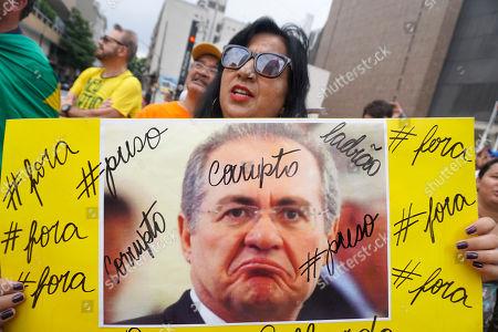 Anti corruption protest, Sao Paulo