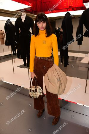Editorial image of Azzedine Alaia presentation, Fall Winter 2019, Paris Fashion Week Men's, France - 20 Jan 2019