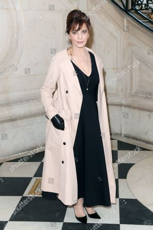 Editorial image of Christian Dior show, Front Row, Spring Summer 2019, Haute Couture Fashion Week, Paris, France - 21 Jan 2019