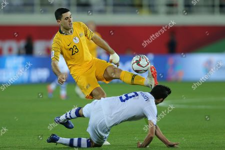 Editorial photo of Emirates Soccer AFC Asian Cup Australia Uzbekistan, Al Ain, United Arab Emirates - 21 Jan 2019