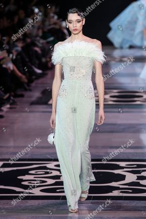 Georges Hobeika Show Runway Haute Couture Fashion Stock Photos Exclusive Shutterstock