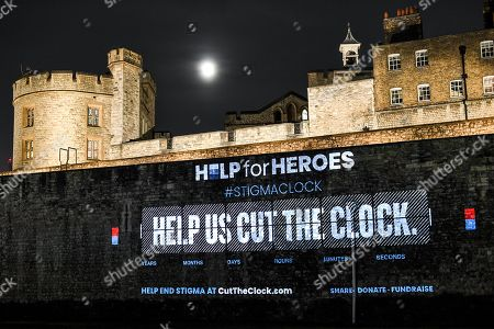 Help For Heroes 'Cut the Clock' mental health campaign at the Tower of London with England rugby legend Matt Dawson and two Help for Heroes Veterans, to show support to those still struggling in silence and to inspire the nation to call Time on Stigma. The campaign aims to lessen the stigma and actively cut the time veterans are taking to seek help for psychological wounds. For any additional requests please contact alex.hodges@helpforheroes.org.uk or visit www.cuttheclock.com