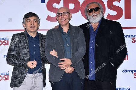 Vincenzo Salemme, Francesco Micciche, Diego Abatantuono