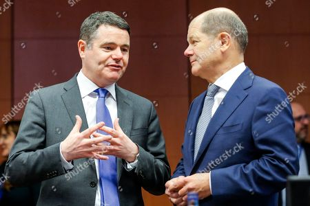 Paschal Donohoe, Olaf Scholz