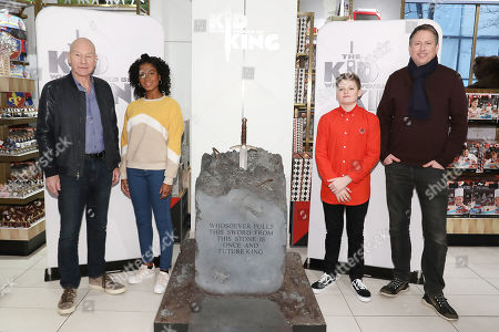 Sir Patrick Stewart, Rhianna Dorris, Louis Ashbourne Serkis and Joe Cornish (Writer, Director)