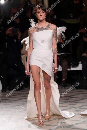 Antonio Grimaldi show, Runway, Haute Couture Fashion Week, Paris